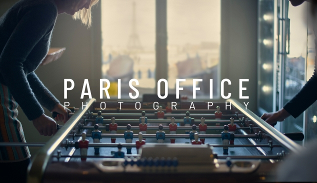 Paris office promo photography