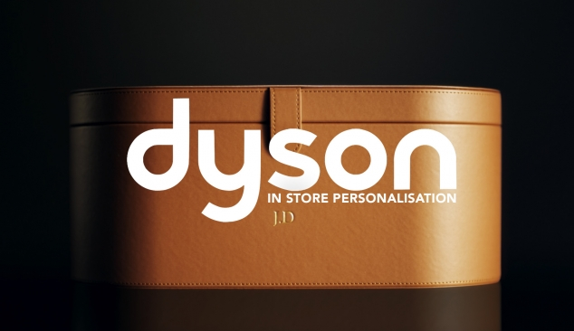 Dyson 'In Store Personalisation' Social Media video ad