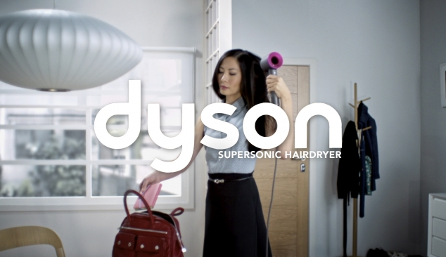 Dyson: Supersonic Hairdryer on-line promotional