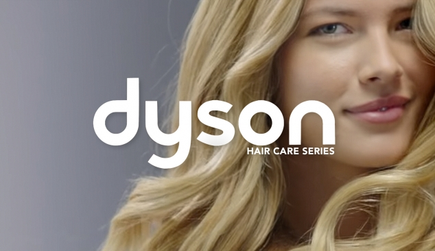 Dyson 'hair care' 'How To' video series