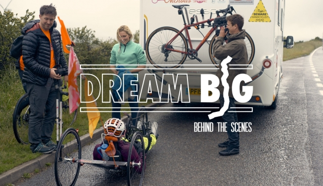 DREAM BIG featuring Mel Nicholls LEJOG Challenge