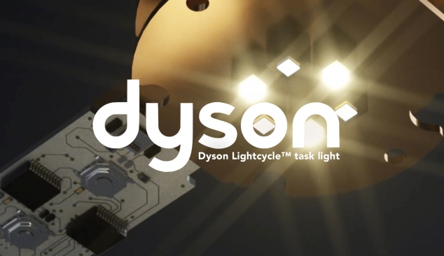 Dyson Task Light Animation