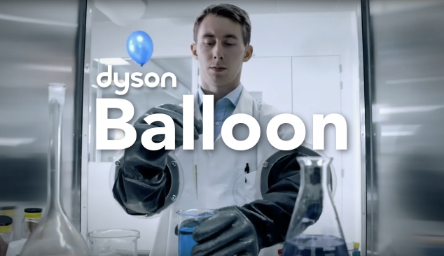 '1000 Takes'  Chasing a balloon around a factory for the Dyson Pure Cool™ Personal Purifying Fan