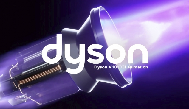 CGI Animation for Dyson V10