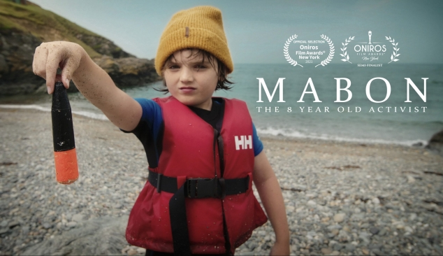 M A B O N –  Oceans of plastic and one 8 year old's solution to help stem the tide.