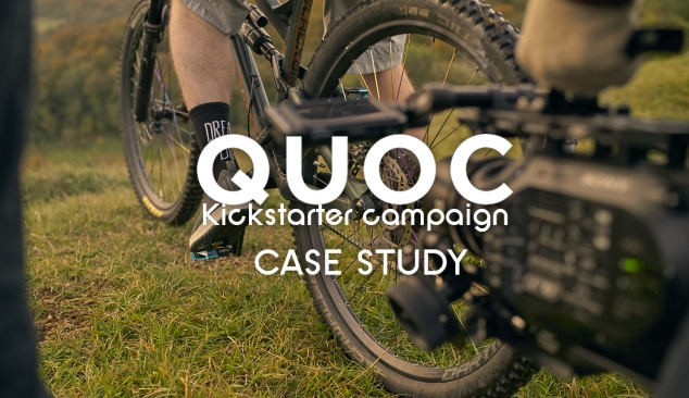 Kickstarter campaign assets for Quoc Shoes