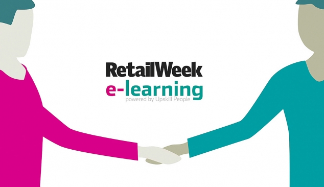 Retail Week e-learning 2D animated infographic