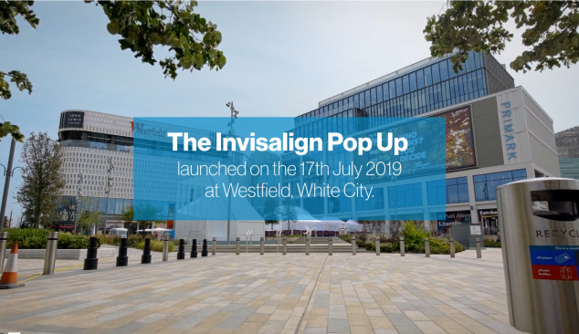 Invisalign, Pop Up Event.