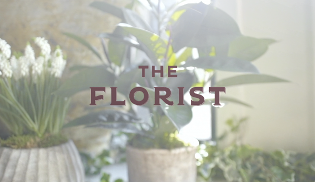 'The Florist' Bristol – New store opening Promotional material