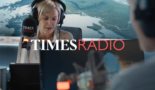 'Times Radio' launch. A brand film made within Lockdown restrictions.