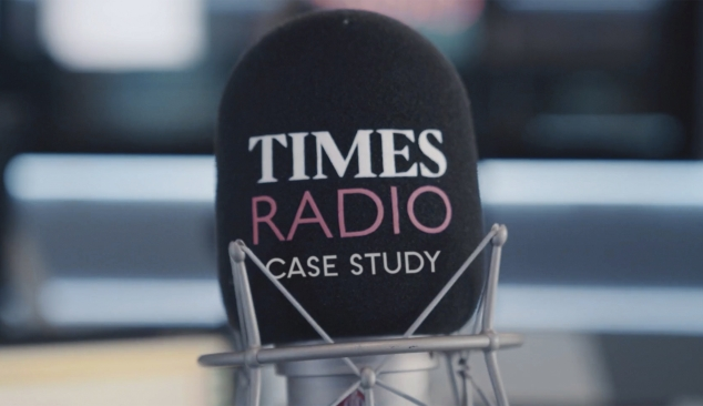 Times Radio launch. A brand film made within Lockdown restrictions.