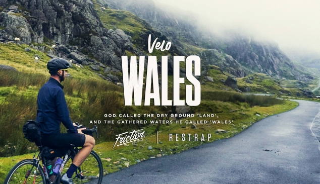'Velo Wales' – God called the dry ground 'land' and the gathered waters he called 'Wales'