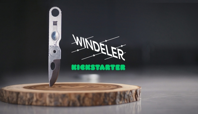 Windeler Kickstarter product design promotional
