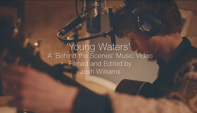 'Young Waters' behind the scenes Music Video filmed and edited by Josh at Friction Collective